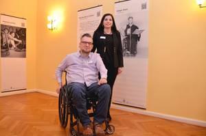 Prof.Dr.Lilli Köpcke und Arne Schöning – Herausgeber und Projektpartner. Foto: FDS