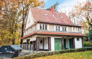 Parkwächterhaus im Lietzenseepark.