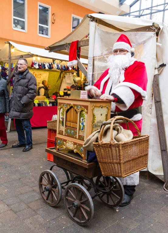 Weihnachtliches auf dem Ferdinandmarkt im vergangenen Jahr.