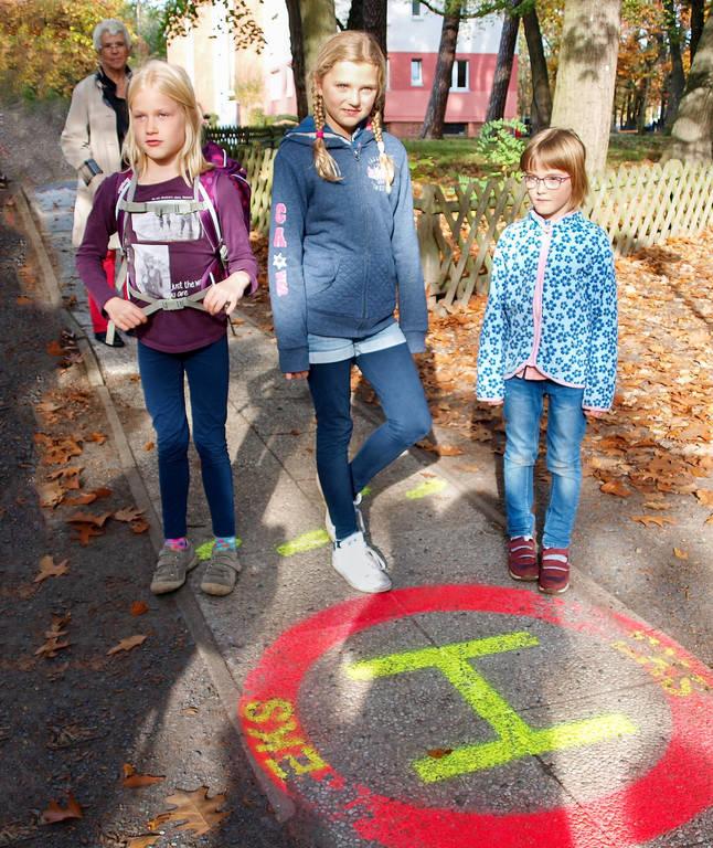 Maxi, Liese und Nadia – erste Berliner Tausendfüßler.