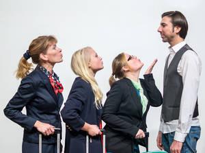 Alle wollen Max - Air France, airberlin, Alitalia. Foto: Frederik Ahlgrimm / Schattenlichter