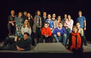 Theatergruppe Schattenlichter. Foto: Frederik Ahlgrimm