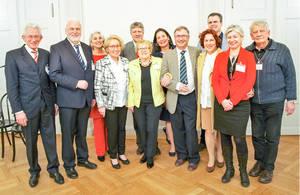 Motiviertes Team der Bürgerstiftung Steglitz-Zehlendorf.