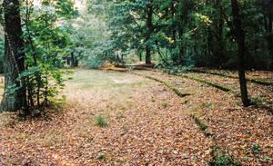 1991 waren die Reste des Theaters noch zu erkennen. Fotograf unbekannt, Archiv Heimatverein Zehlendorf