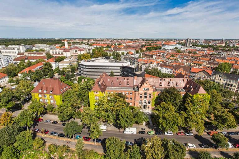 Hauptsitz des Robert Koch-Institut am Nordufer in Berlin-Wedding. Foto: Manuel Frauendorf / RKI
