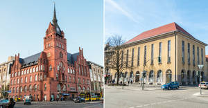 Rathaus Steglitz und Rathaus Zehlendorf.