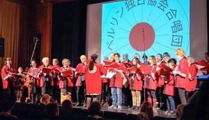 Der Chor der DJG Berlin beim Japan Festival. Foto: DJG Berlin
