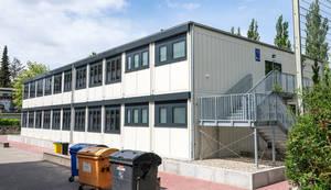 Neuer Containerbau in der Gallwitzallee 136-144.