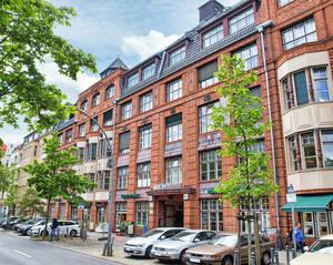In die Askania-Höfe in der Bundesallee 88 in Berlin-Friedenau sind Büros und Unternehmen eingezogen. Foto: Jacqueline Lorenz