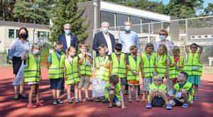 Gemeinsam für einen sicheren Schulweg. Foto: R. Breidenbach