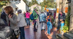 Viele Besucher kamen in den letzten Jahren zu den Erntedankfesten an der Kirche am Stölpchensee.