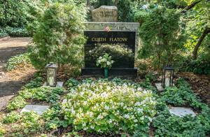 Ehrengrab von Curth Flatow auf den Waldfriedhof Dahlem.