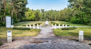 Erinnerung an die im Zweiten Weltkrieg getöteten Italiener.