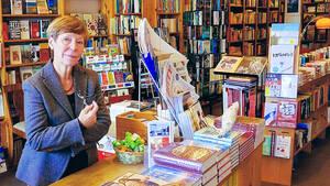 Christiane Fritsch-Weith bekam mit ihrem Buchladen Bayerischer Platz zum dritten Mal den Deutschen Buchhandelspreis verliehen. Foto: Buchladen Bayerischer Platz