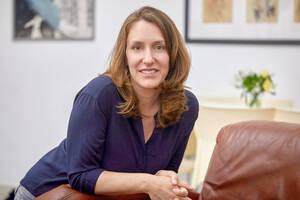 Deborah Hartmann, Leiterin des Haus der Wannsee-Konferenz. Foto: Yoram Aschheim