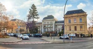 Das Mosse-Stift an der Mecklenburgischen Straße.