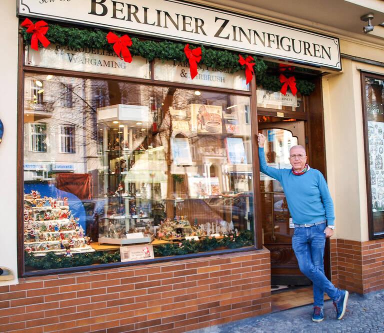 Hans-Günther Scholtz lässt mit seinen Zinnfiguren Geschichte lebendig werden.