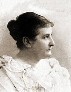 Dora Duncker um 1898.