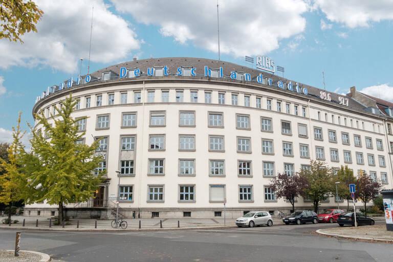 RIAS Funkhaus am Hans-Rosenthal-Platz.