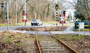 Gleise der Goerzbahn am Dahlemer Weg.