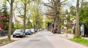 Die Schütte-Lanz-Straße in Lichterfelde erinnert an die Luftschiffbauer.