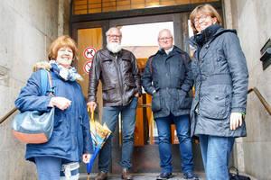Die Schiedspersonen aus Steglitz-Zehlendorf (v.l.n.r.): Siegrid Nordhausen, Eginhard Paul, Holger Eisenhardt und Karin Kausch.