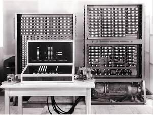 Der Z3, der erste funktionsfähige Digitalrechner der Welt. Foto mit freundlicher Genehmigung von Professor Dr. Dipl.-Ing. Horst Zuse