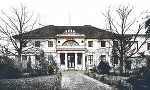 Das Gutshaus Steglitz um 1900. Archiv Schlosspark Theater