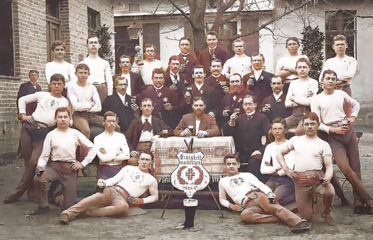 Männer-Turn-Verein Stolpe. Foto: TuS Wannsee