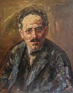 Karl Liebknecht, porträtiert von seinem Sohn Robert im Jahr 1930. Foto: Käthe-Kollwitz-Museum