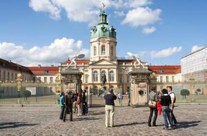 Touristenmagnet Schloss Charlottenburg.