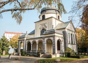 Friedhofskapelle auf dem St.-Matthäus-Kirchhof in Schöneberg.