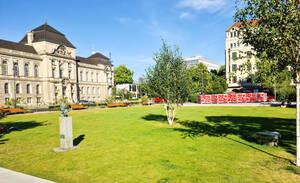Der Steinplatz wird wieder zu einem Ort neuer Inspiration. Foto: BACW