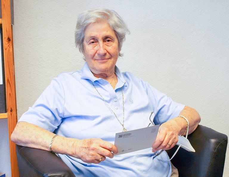 Jael Botsch-Fitterling, Jüdische Vorsitzende der Gesellschaft für Christlich-Jüdische Zusammenarbeit Berlin.