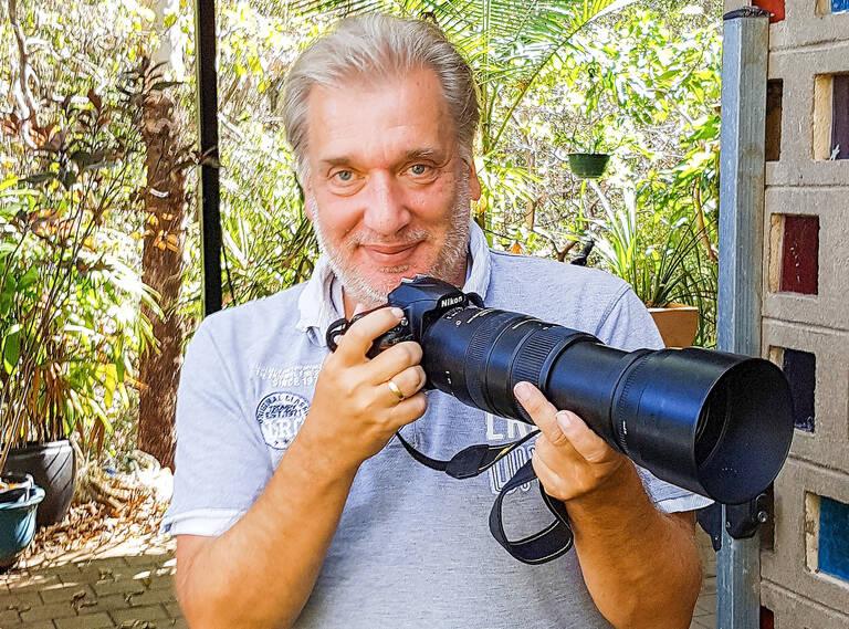 Wolfgang Stürzbecher – Fotografieren ist für ihn viel mehr als bloßes Hobby. Archiv Wolfgang Stürzbecher