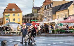 Eine gemeinschaftliche Entwicklungsstrategie soll die Qualität des Zentrums um den Kranoldplatz erhalten und stärken.