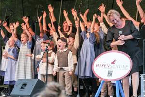 Der Chor 'Die Kinder' der Hasenschule. Foto: Family & Friends e. V.