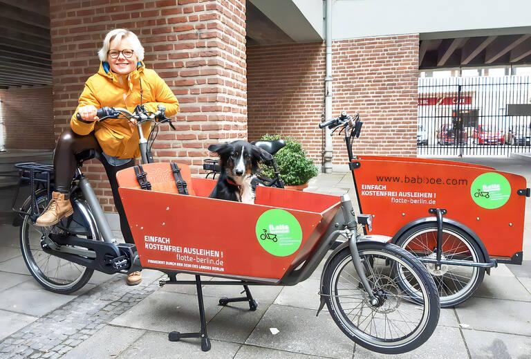 Umweltfreundliche Lastenfahrräder für kleinere Transporte. Foto: Frank Markowski