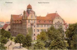 Friedrich-Bergius-Schule um 1903. Foto: Friedrich-Bergius-Schule