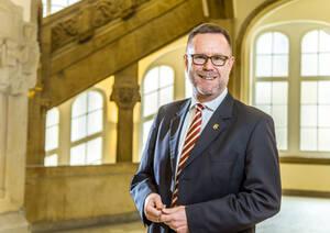 Bezirksbürgermeister Reinhard Naumann. Foto: Amun Akhtar