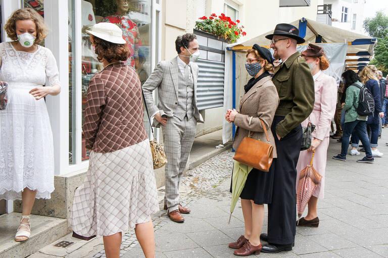 Nach den guten Erfahrungen im vorigen Jahr wird das 20.Jubiläum der Antikmeile coronagerecht gefeiert. Foto: oldthing.de