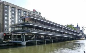 Ganz so groß wie diese Fahrradparkhaus in Amsterdam wird es wohl nicht...