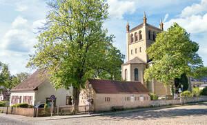 Am 3.Oktober wird rund um die Kirche am Stölpchensee das Erntedankfest gefeiert.