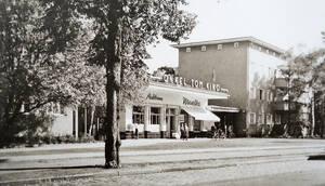 Die Ladenstraße damals …