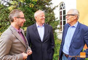 (v.r.n.l.) Dr.Reinhard Baumgarten, Klaus-Martin Grünke und Sebastian Clausert, das Ideenbeschleuniger-Team des RMSW. Foto: RMSW