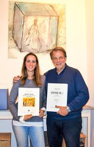 Vierte und fünfte Generation im Einsatz für den Verlag: Andreas Meurer und Caroline Helms. Foto: Lorenz/Ries & Erler
