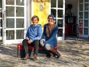 Gabi dan Droste (l.) und Susanne Beyer freuen sich auf viele Fest-Gäste am 15. und 16.Dezember.