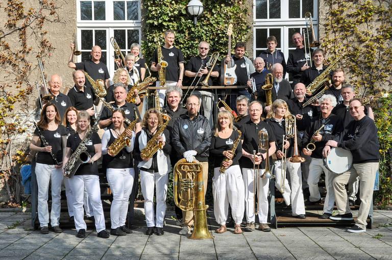 Die Lankwitz Horns – der Gute-Laune-Export aus Lankwitz. Foto: Ursula / Lankwitz Horns
