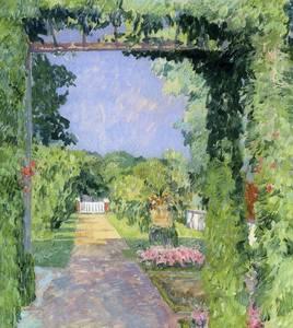 Max Clarenbach: Aus meinem Garten, um1912. Privatsammlung, courtesy Galerie Paffrath