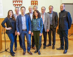 Machen sich gemeinsam für den Tourismus im Bezirk stark: Vertreter aus Wirtschaftsförderung, Regionalmanagement, VisitBerlin, EBCHochschule Berlin und Senatsverwaltung.